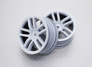 Escala 1:10 de alta qualidade Touring / tração Rodas RC 12 milímetros Car Hex (2pc) CR-GTW