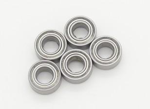 Bearing (10x5x4) - 1/10 Turnigy GT-10X Pan carro (5pcs)