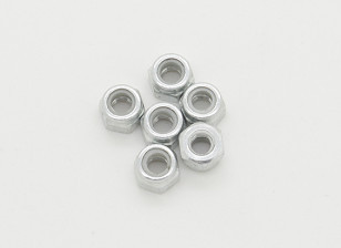 M3 bloqueio Nut - Turnigy GT-10X Pan carro (6pcs)