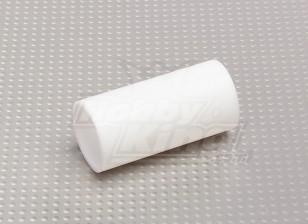 Teflon 25 milímetros Silenciador / Frente de marceneiro tubulação nenhum clipe