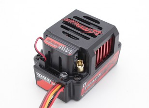 TrackStar 150A GenII 1 / 8th escala Sensored Brushless Car ESC - (PC programável)