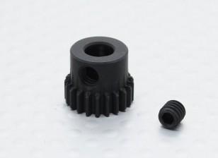 21T / 5 mm 48 Passo Hardened pinhão Aço