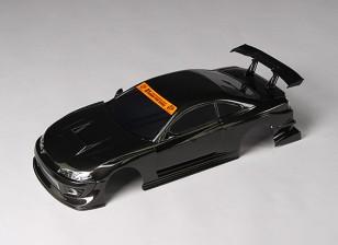 01:10 GP Sports S15 Silvia Acabou Shell corpo w / baldes de LED