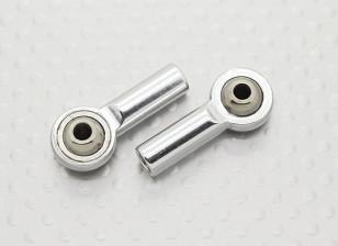 Metal bola Articulações (rosca esquerda) M4 × 26 milímetros × 3 milímetros - 2pcs