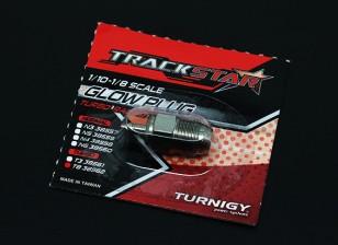 TrackStar 10/01 ~ 08/01 Escala Turbo Vela No.8 (médio)