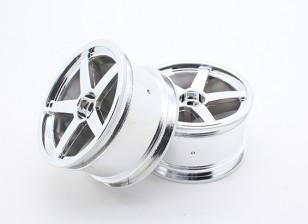 Nitro tóxico - Roda cromada Traseira
