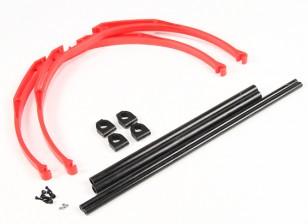 M200 Crab Leg Landing Gear Set DIY (vermelho)