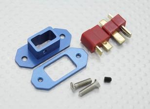 Anodizado Liga externo vôo Bateria Armando Switch (T-plug)