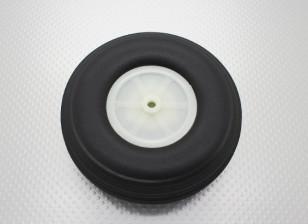 """4,5 """"Rubber Roda /114.3mm Ultra Luz PU Scale"""