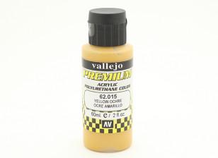Vallejo Premium Color Pintura acrílica - ocre amarelo (60 ml)