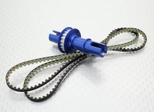 2.0 Relação Contador fixo Axle Set - 1/10 Hobbyking Mission-D 4WD