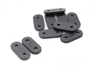 Landing Gear cintas (Black) 10pc