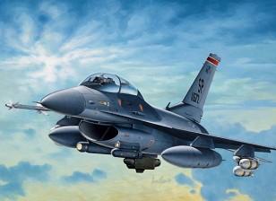 Italeri escala 1/72 Kit F-16 C / D Noite Falcon Plastic Modelo