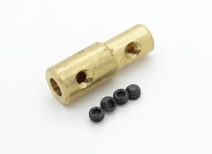 5mm a 3mm eixo de acoplamento Para Quanum Aquaholic / Relentless Corrida de Barcos