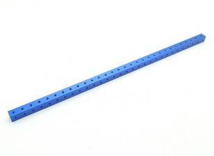 RotorBits pré-perfurados de alumínio anodizado Construção perfil 300 milímetros (azul)