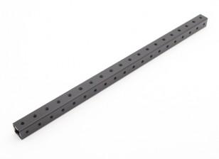 RotorBits pré-perfurados de alumínio anodizado Construção perfil 200 milímetros (Black)