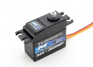 Turnigy ™ MX-355WP impermeável BB / AS / MG Servo 12 kg / 0.14sec / 42g