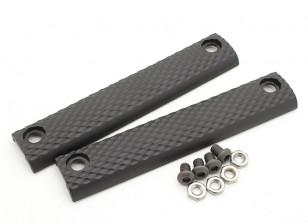 Dytac UXR 3 Painel padrão de 5,5 polegadas (Black, 2pcs / bag)