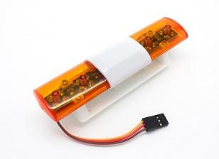 Recuperação LED Veículo Sistema de Iluminação Oval Estilo (âmbar)