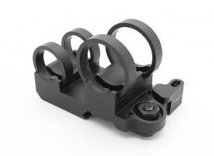 Elemento ex302 LR Tactical Double Stack Flashlight Mount (Black)