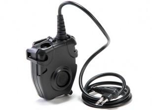 Z Tactical Z112 Peltor PTT (Motorola 2 pinos Ver.)