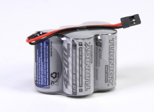 Turnigy Receiver Pacote de Sub-C 4200mAh 6.0V NiMH Series High Power