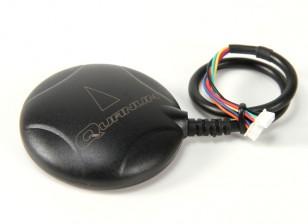 Quanum GPS LEA-6H com compasso e pedestal com caso