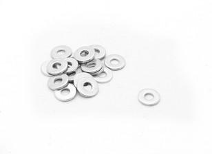 RJX X-TRON 500 M3 x 8 x 1 milímetro Washer # X500-8004 (20pcs)