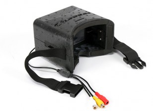 Quanum DIY FPV Goggle Set com Monitor (KIT)