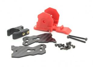 Tarot 680Pro HexaCopter substituição Leg mecanismo de dobramento (1pc) (vermelho)
