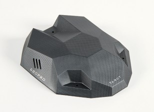 Tarot 680Pro HexaCopter Canopy Efeito de carbono com Fitting Kit (1pc)
