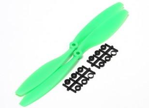 Turnigy Slowfly Hélice 10x4.5 Green (CW) (2pcs)
