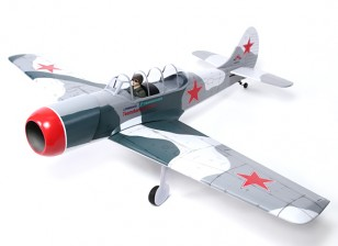 Yak 52 Russian instrutor Balsa GP / EP 1.540 milímetros (ARF)