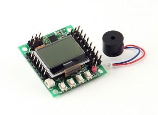 36x36mm HobbyKing ™ KK-Mini Multi-Rotor vôo Control Board (30.5x30.5mm)
