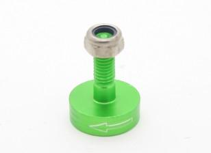 CNC alumínio M6 Quick Release auto-aperto Prop Adapter - Green (Prop Side) (anti-horário)