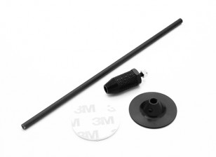 Mini GPS Folding Antena Base de Set / Preto