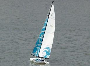 Poseidon 650 Sailboat 1370 milímetros (RTS - prontos para navegar)