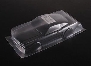01:10 FORD MUSTANG Limpar Shell Corpo