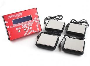 TrackStar Canto Sistema de peso - para 1/8, 1/10, 1/12 Chassi do carro
