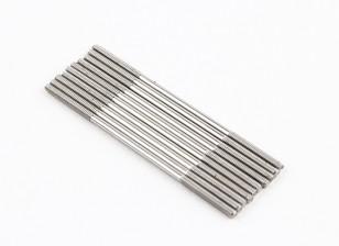 Empurre hastes de aço inoxidável M2x55mm (LH & RH rosca) (10pcs)