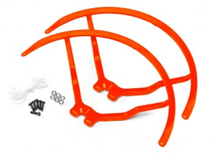 8 Inch Plastic Universal Multi-Rotor hélice Guard - Orange (2set)