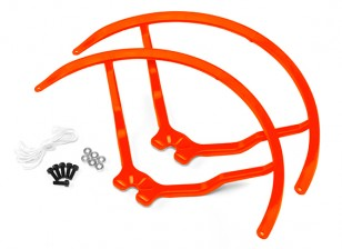 9 Inch Plastic Universal Multi-Rotor hélice Guard - Orange (2set)