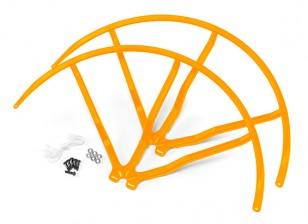 10 Inch Plastic Universal Multi-Rotor hélice Guard - Amarelo (2set)
