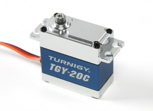 Turnigy ™ TGY-20C High Torque DS / MG Servo w / Alloy Caso 40 kg / 0.18sec / 78g