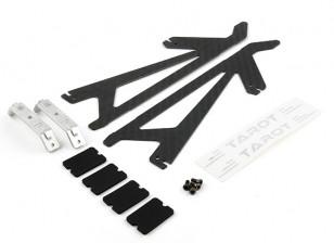 Tarot 450 PRO / PRO V2 Carbon Fiber Landing Skid Set (TL2775-01)