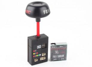 Transmissor Fatshark 25mW 7CH 5.8GHz CE Certified vídeo com NexwaveRF