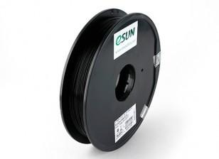 Filament Printer ESUN 3D preta 1,75 milímetros PLA 0.5KG Spool
