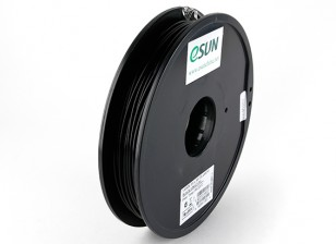 ESUN 3D Filament Printer Preto 3 milímetros PLA 0.5KG Spool