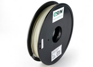 ESUN 3D Filament Printer 3 milímetros Natural PLA 0.5KG Spool