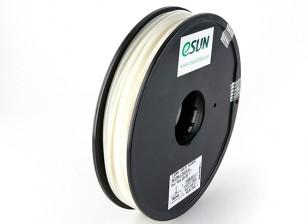 ESUN 3D Filament Printer 3 milímetros Natural ABS 0.5KG Spool